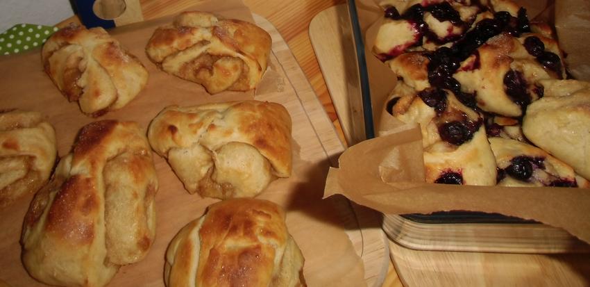 Korvapuusti - finnische Zimtschnecken