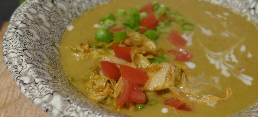 Rote Linsen Suppe mit Kokosmilch 17